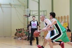 Basketballspiel Lizenzfreie Stockbilder