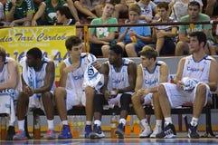 Basketballspiel, Cup Andalusien 2012 Stockfotografie