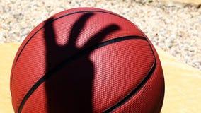 Basketballsteinflusshintergrund niemand hd Gesamtl?nge stock footage