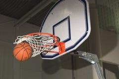BasketballSwish stockbild