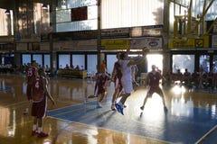 Basketballtätigkeit Lizenzfreies Stockfoto
