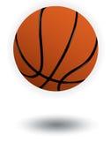 Basketballvektorabbildung Stockfotos