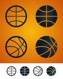 Basketballzeichen stock abbildung