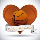 Basketbalontwerp Royalty-vrije Stock Foto's