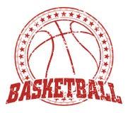 Basketbalontwerp - Wijnoogst Royalty-vrije Stock Foto