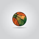 Basketbalpictogram voor het Web, mobiele app Stock Foto