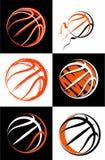 Basketbalreeks, sportbeelden Royalty-vrije Stock Foto