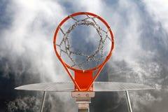 Basketbalziel Stockfoto