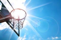 Basketbeslag Royaltyfri Fotografi