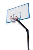 Basketbeslag och målbräda Royaltyfri Foto