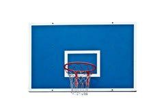 Basketbeslag på vit Royaltyfri Fotografi
