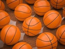Basketbollar Arkivbild