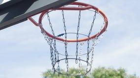 basketclosebeslag upp lager videofilmer