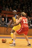 basketdelisha jones milton Arkivbilder