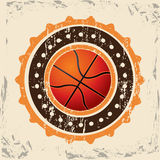 Basketdesign Royaltyfria Foton
