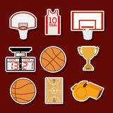 Basketdesign Royaltyfri Foto