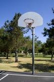 basketdomstol Arkivfoton