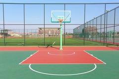 basketdomstol om illustration Royaltyfri Fotografi