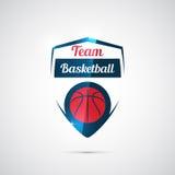 Basketemblem Arkivbild