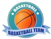 basketetikett Royaltyfri Bild