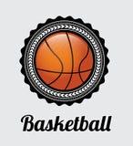 Basketetikett Fotografering för Bildbyråer