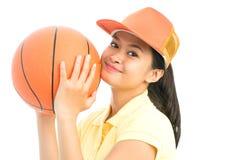 Basketflicka Royaltyfria Foton