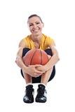 Basketflicka Arkivbild