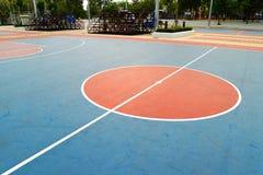 Basketfält Royaltyfri Foto