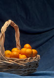 Basketfull of clementine Royalty Free Stock Photography