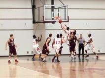 baskethögskola royaltyfri fotografi