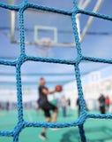 Basketkraftmätning fotografering för bildbyråer