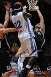 basketmatch kaposvar pecs Arkivfoton