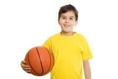 basketpojke Fotografering för Bildbyråer