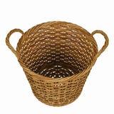Basketry в белом backgound стоковые фотографии rf