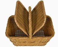 Basketry в белом backgound стоковые изображения rf
