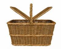 Basketry в белом backgound стоковое изображение