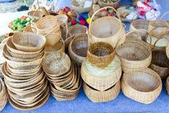 Basketry плетеной корзины G a, продукты корзины плода Handmade стоковые фото