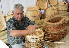 basketry fotografia stock