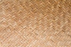Basketry de bambu Fotografia de Stock
