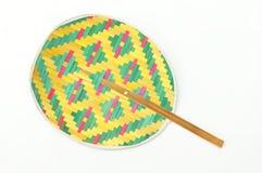 Basketry fan Royalty Free Stock Photo