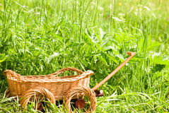 Basketry On Nature Stock Photography