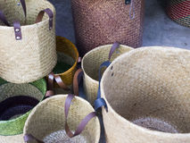 Basketry product. Royalty Free Stock Photo