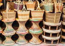 Basketry is Thai handmade Stock Photo