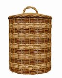 Basketry in a white backgound. Put some action in yours creations stock image