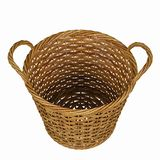 Basketry in a white backgound. Put some action in yours creations royalty free stock photos