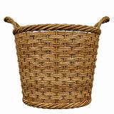 Basketry in a white backgound. Put some action in yours creations royalty free stock photo