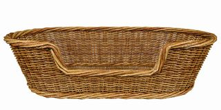 Basketry in a white backgound. Put some action in yours creations stock photo