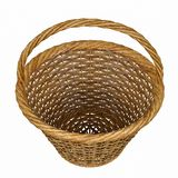 Basketry in a white backgound. Put some action in yours creations royalty free stock photography