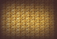 Basketry wicker texture. Royalty Free Stock Image