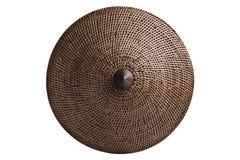 Basketry (Wickerwork) av rotting som isoleras med snabba banor. Royaltyfria Bilder